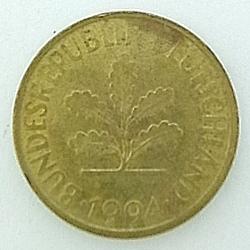 コイン/ドイツ/10ペニッヒ/21mm [ポイント40倍]