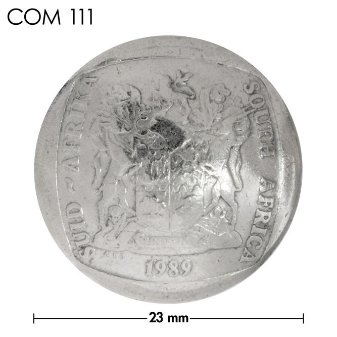 コンチョ/南アフリカ/2ランド/紋章/銀色/23mm [ポイント40倍]