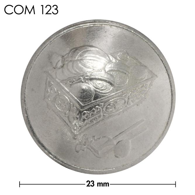 コンチョ/マレーシア/20セン/箱/銀色/23mm [ポイント40倍]