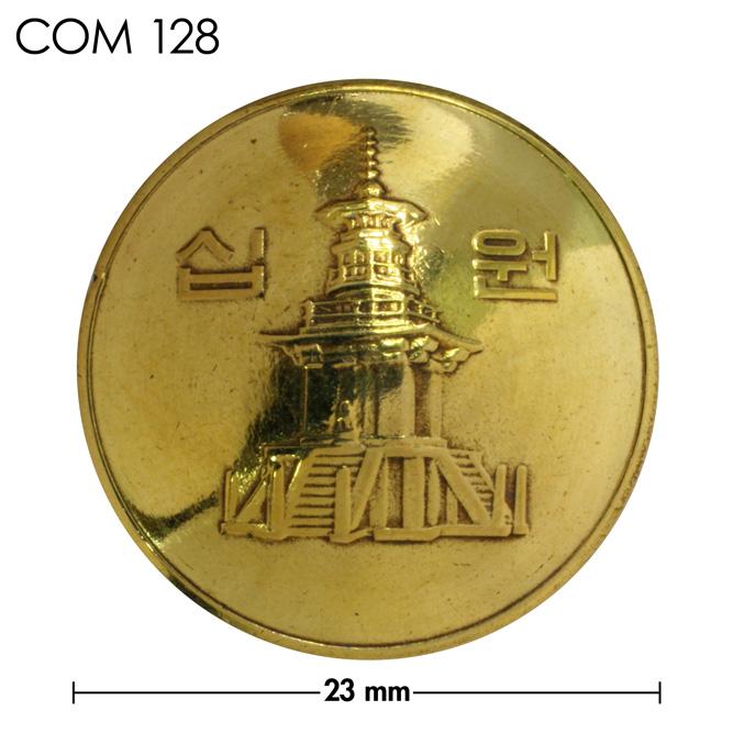 コンチョ/韓国/10ウォン/真鍮色/23mm [ポイント40倍]