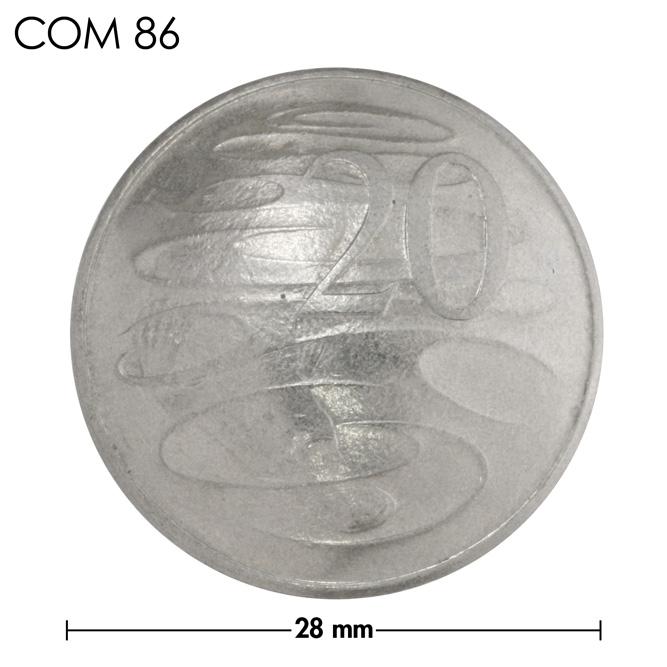 コンチョ/オーストラリア/20セント/カモノハシ/銀色/28mm [30%OFF]