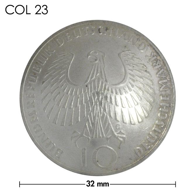 コンチョ/ドイツ/10マルク/1972年記念銀貨/銀色/32mm [10%OFF]