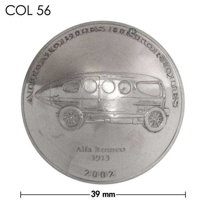 コンチョ/コンゴ/10フラン/アルファロメオ/銀色/39mm [ポイント40倍]