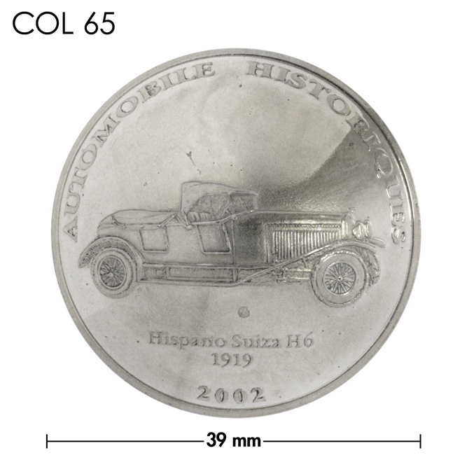 コンチョ/コンゴ/10フラン/1919年H6型/銀色/39mm [30%OFF]