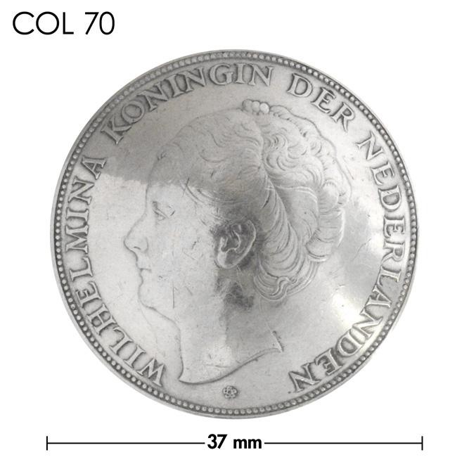 コンチョ/オランダ/2&1/2ギルダー/人物/銀貨/銀色/37mm [10%OFF]