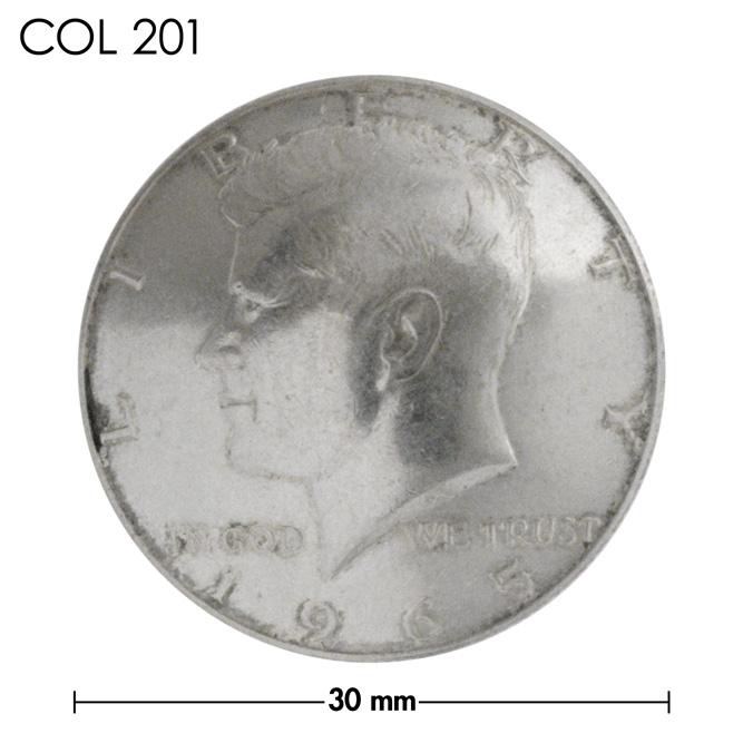 コンチョ【年号選択あり・1965〜1970年】アメリカ/50セント/銀貨/ケネディー/銀色/30mm [20%OFF]