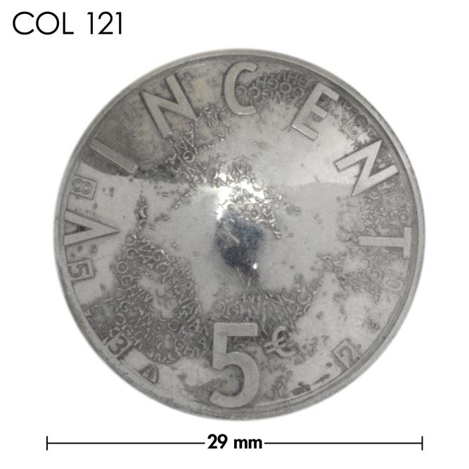 コンチョ/オランダ/5ユーロ銀貨/ヴィンセント・ヴァン・ゴッホ/銀色/29mm [40%OFF]