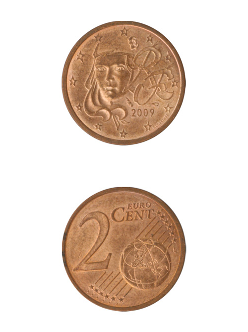 コイン/フランス/ユーロ/2セント/19mm [40%OFF]