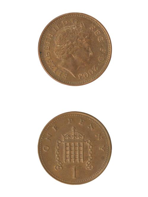 コイン/イギリス/1ペニー(エリザベス2世後期)/20mm [ポイント40倍]
