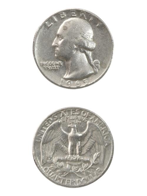 コイン【年号選択あり・1965年〜1998年】アメリカ/25セント/24mm [10%OFF]