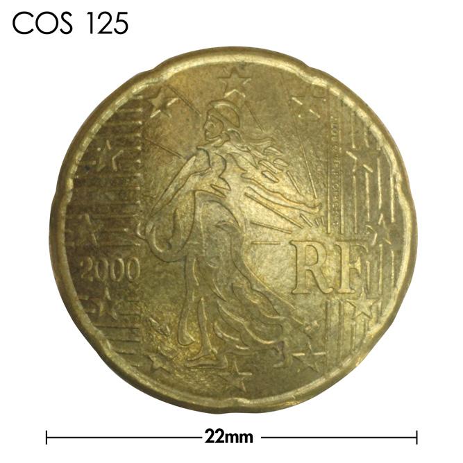 コンチョ/フランス/20セント/種を蒔く人/真鍮色/22mm [10%OFF]