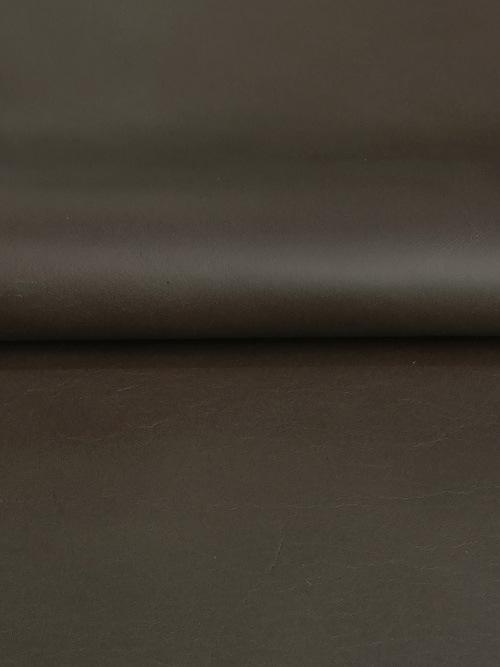 牛ヌメ革【30cm幅】抗菌・防水/エコテックス・マット/ダークブラウン