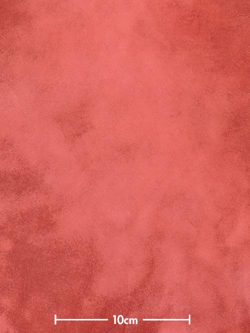 牛ヌメ革【30cm幅】栃木レザー/ウォーターエイジング/レッド系