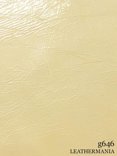 牛革【1/4裁】ソフトエナメル/1.0mm/クリーム [半額]
