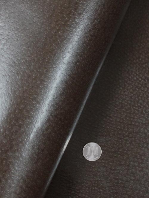 豚革【丸革】0.5mm/色豚/焦茶 [協進エル] [10%OFF]