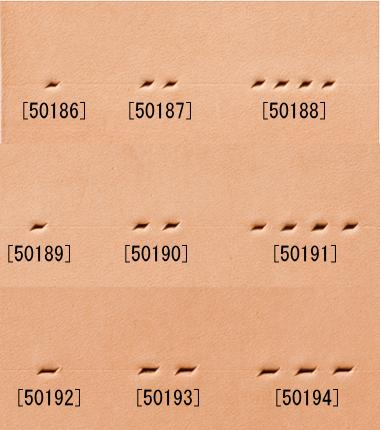 プロ菱目パンチ/4mm巾/2本目 [協進エル] [30%OFF]