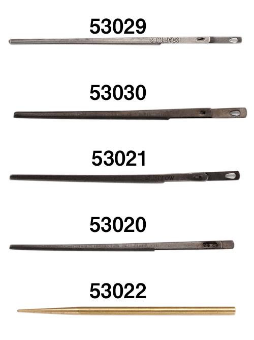 レース針/2mm(全長約5.8cm)【1本】 [協進エル] [10%OFF]