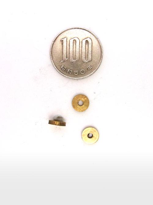 真鍮製ビーズ/7mm [ポイント40倍]