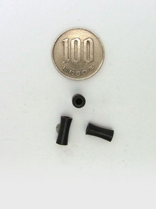 真鍮製ビーズ/ブラックメッキ/4mm [ポイント40倍]