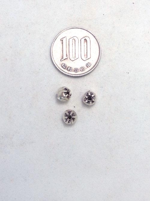 カレンシルバービーズ/6mm [silver] [40%OFF]