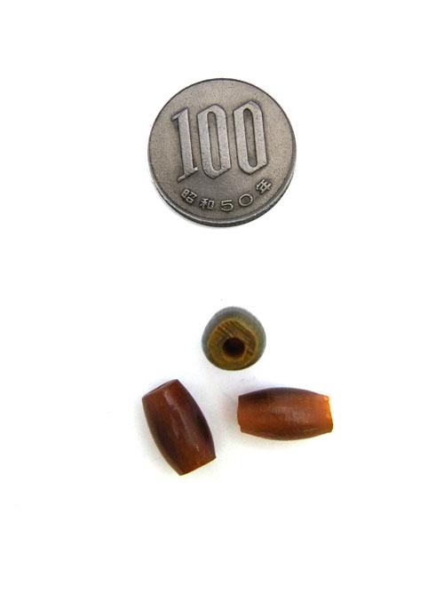 ボーンビーズ/茶/7mm [30%OFF]