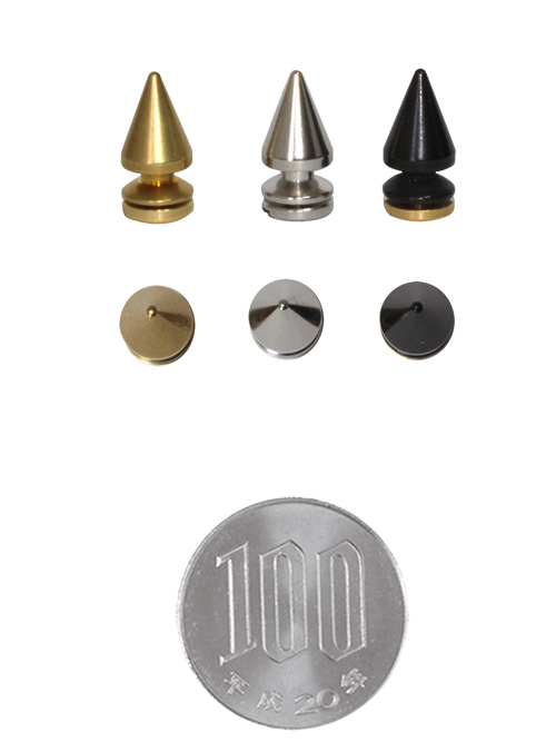 ロンドン鋲/真鍮製/SS/細/直径7mm高さ12.5mm [br]