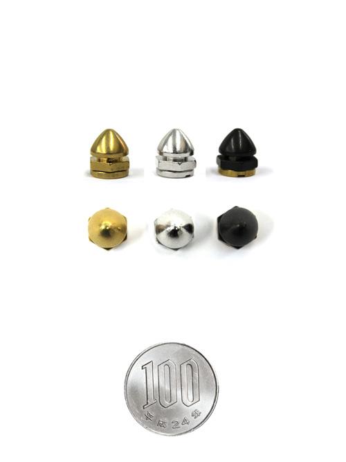 新ロンドン鋲/真鍮製/S/直径9×10mm(高さ9mm) [br] [40%OFF]