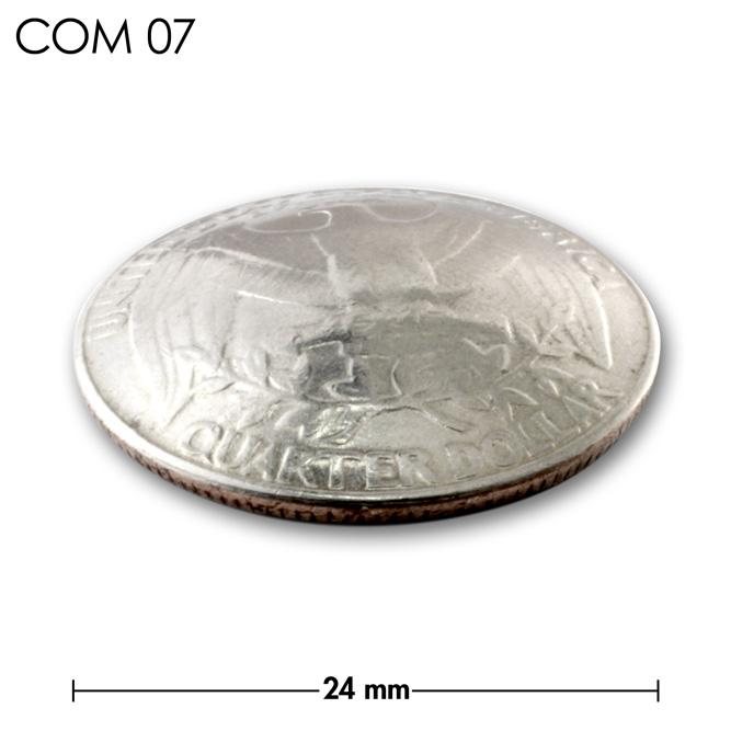 コンチョ/アメリカ/25セント/鳥/銀色/24mm [ポイント40倍]