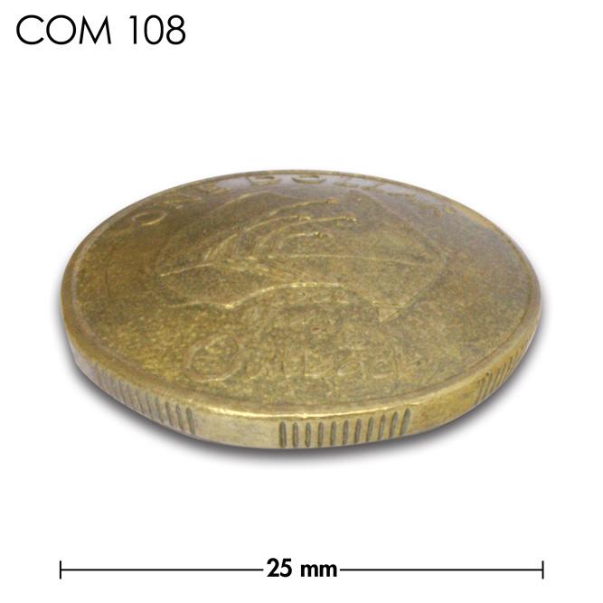 コンチョ/オーストラリア/1ドル/year of the outback/真鍮色/25mm [ポイント40倍]