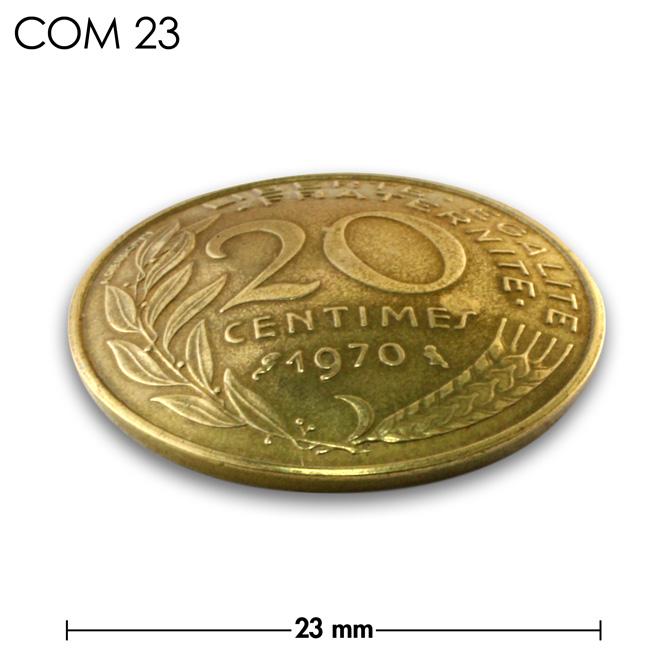 コンチョ/フランス/20サンチーム/植物/真鍮色/23mm [ポイント40倍]