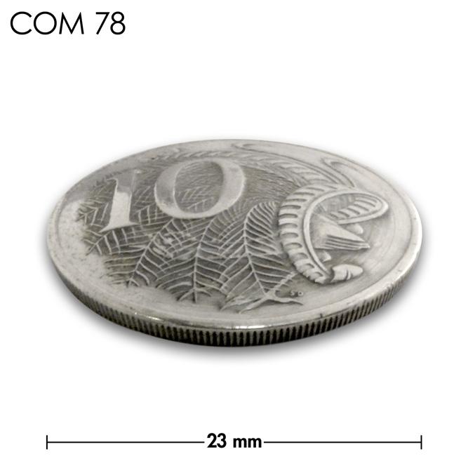 コンチョ/オーストラリア/10セント/図形/銀色/23mm [10%OFF]
