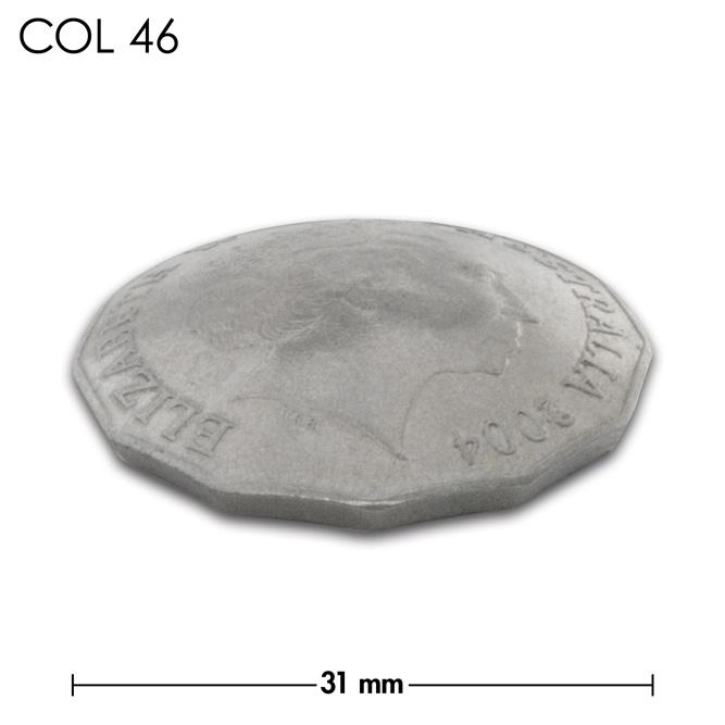 コンチョ/オーストラリア/50セント/エリザベス女王後期/銀色/31mm [ポイント40倍]