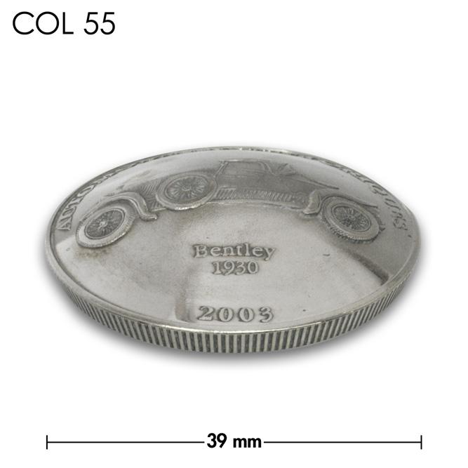 コンチョ/コンゴ/10フラン/ベントレー/銀色/39mm [40%OFF]