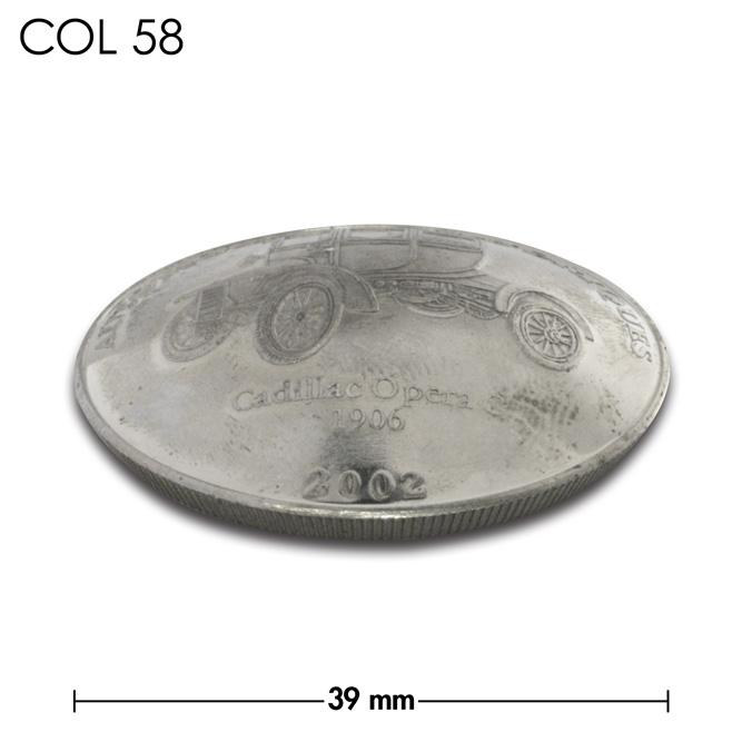 コンチョ/コンゴ/10フラン/キャディラック/銀色/39mm [ポイント40倍]