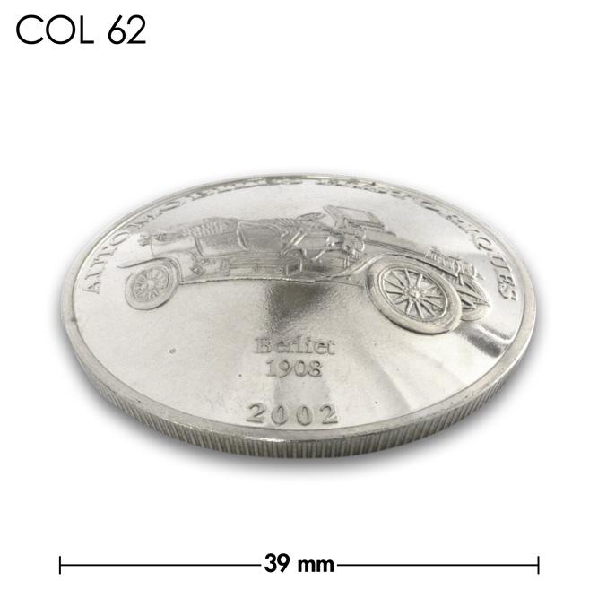 コンチョ/コンゴ/10フラン/バイライト/銀色/39mm [30%OFF]