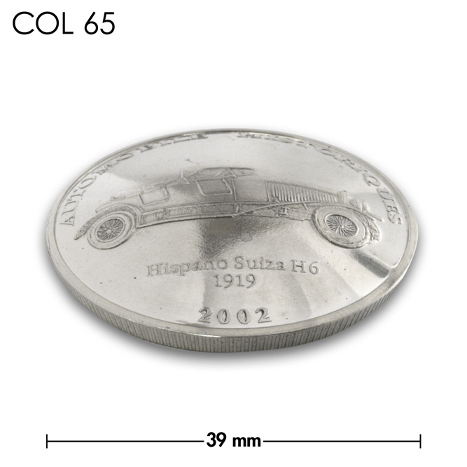 コンチョ/コンゴ/10フラン/1919年H6型/銀色/39mm [10%OFF]