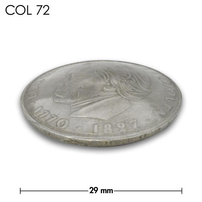 コンチョ/ドイツ/5マルク/ベートーベン1970年記念銀貨/銀色/29mm [10%OFF]