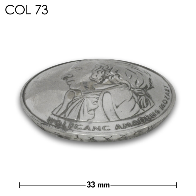 コンチョ/ドイツ/10ユーロ/モーツアルト生誕250年記念銀貨/銀色/33mm [10%OFF]
