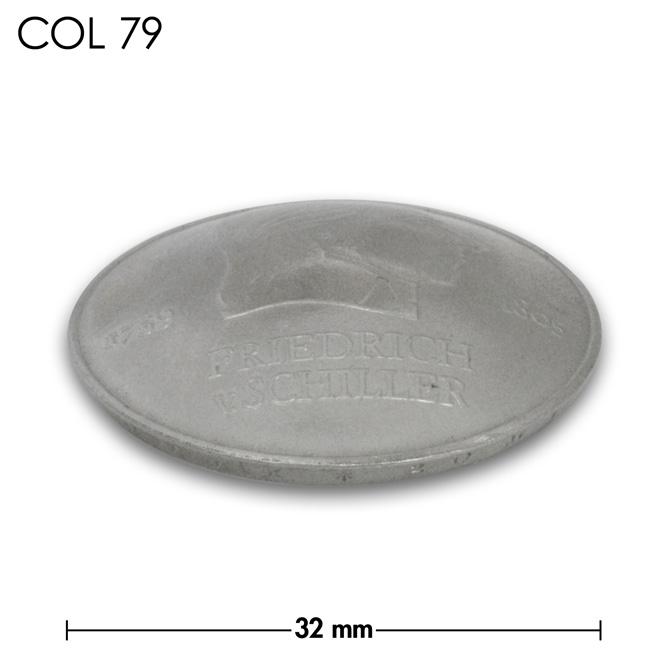 コンチョ/ドイツ/20マルク/銀色/32mm [ポイント40倍]