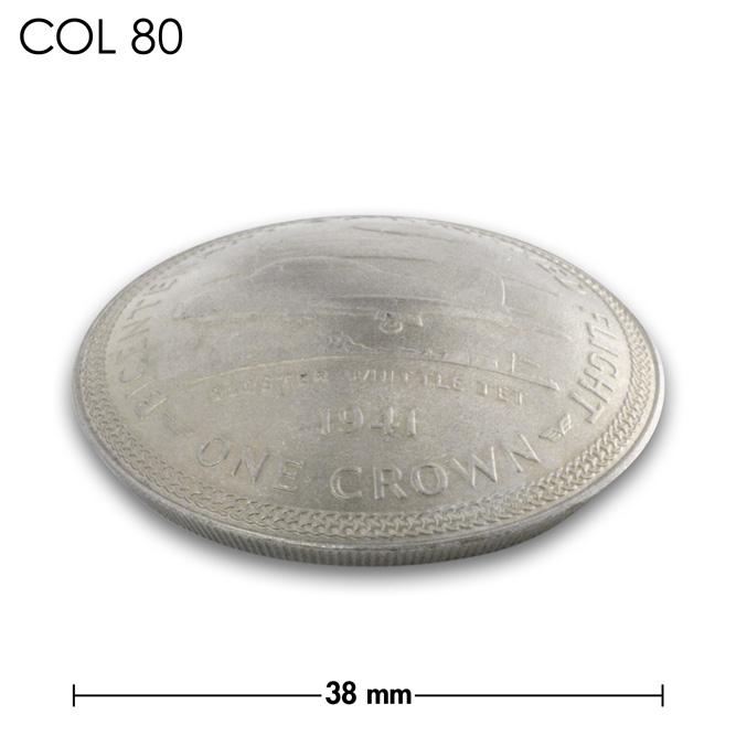 コンチョ/マン島/1クラウン/戦闘機/銀色/38mm [ポイント40倍]