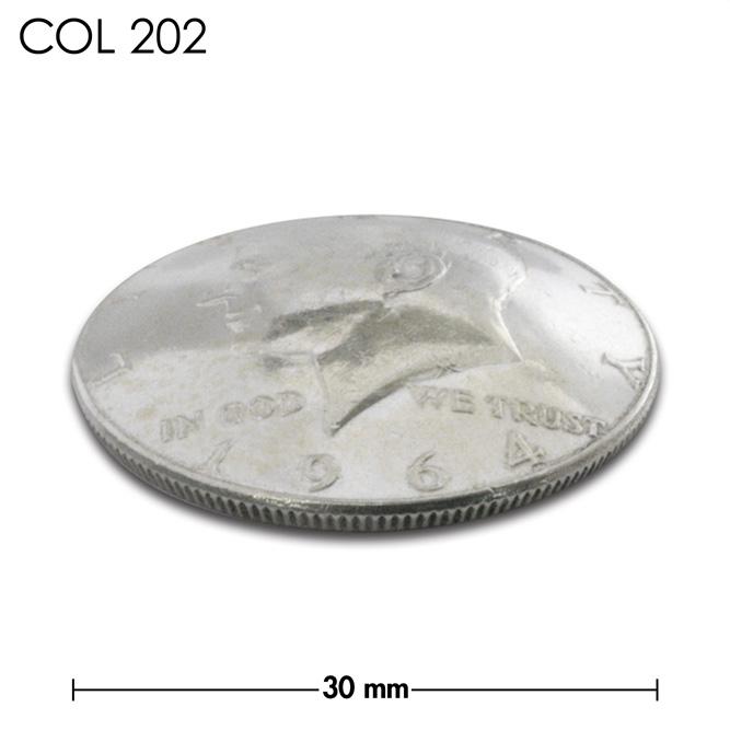 コンチョ/1964年/アメリカ/50セント/銀貨/ケネディー/銀色/30mm [40%OFF]