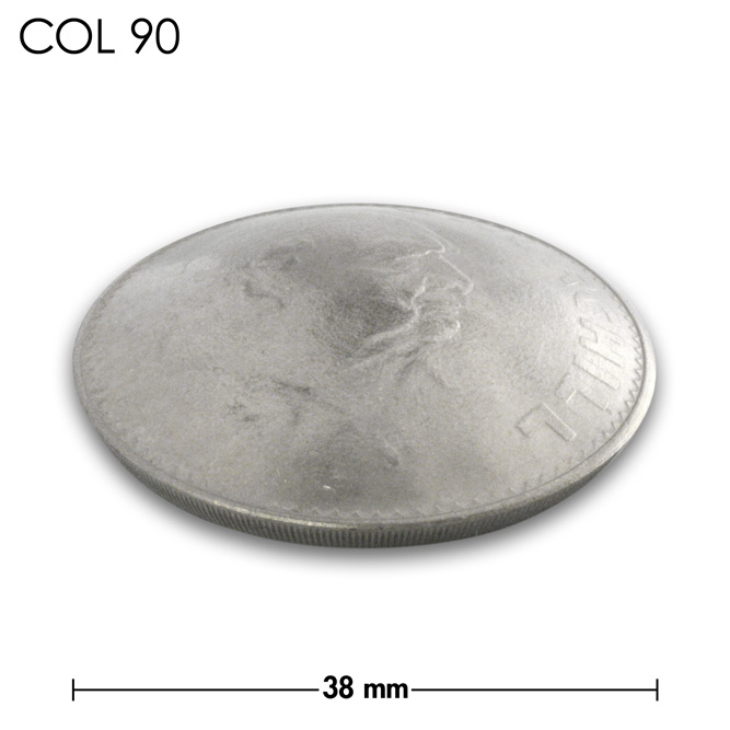 コンチョ/チャーチル追悼記念コイン/銀色/38mm [ポイント40倍]