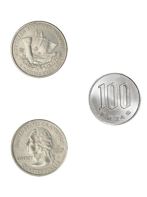 コイン/アメリカ海外領土記念25セント/北マリアナ諸島/24mm [ポイント40倍]