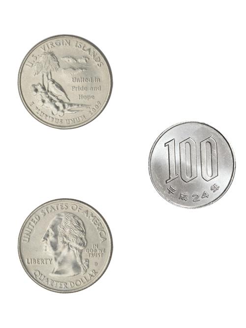 コイン/アメリカ海外領土記念25セント/アメリカ領ヴァージン諸島/24mm [ポイント40倍]