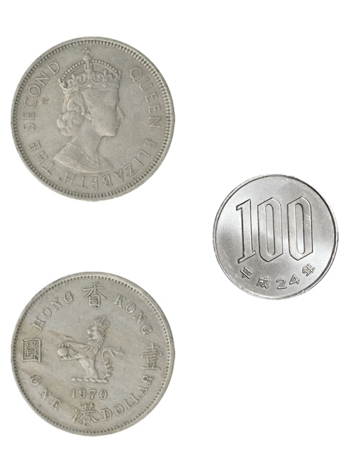 コイン/香港/1ドル(エリザベス2世戴冠期)/30mm [ポイント40倍]