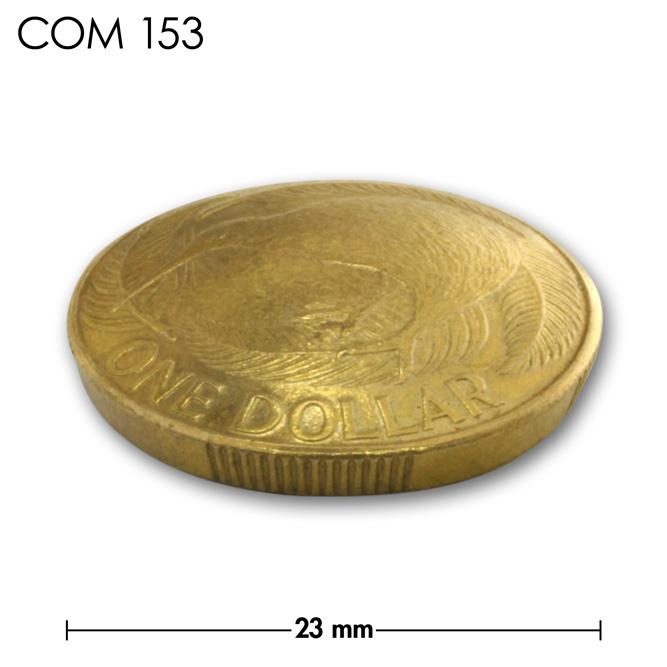 コンチョ/ニュージーランド/1ドル/キーウィ/真鍮色/23mm [30%OFF]