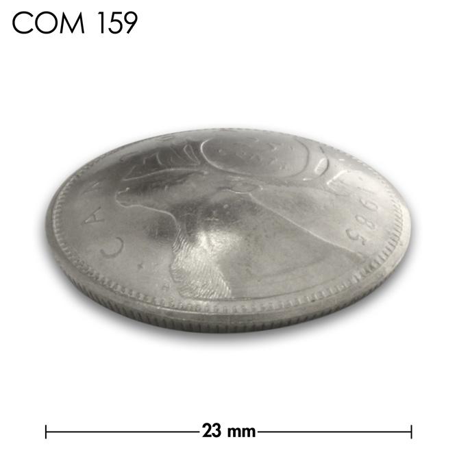 コンチョ/カナダ/25セント/トナカイ/銀色/23mm [ポイント40倍]