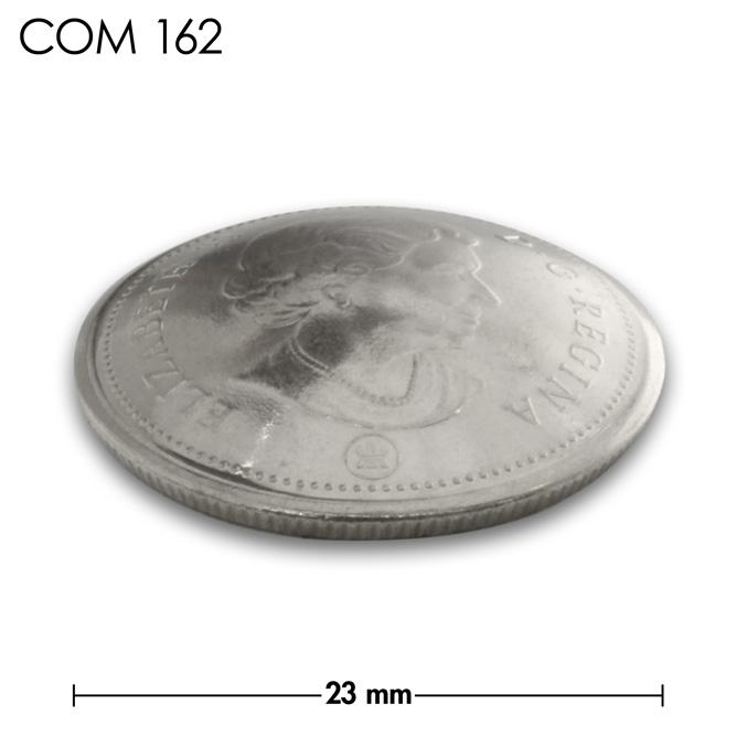コンチョ/カナダ/25セント/エリザベス女王後期/銀色/23mm [10%OFF]