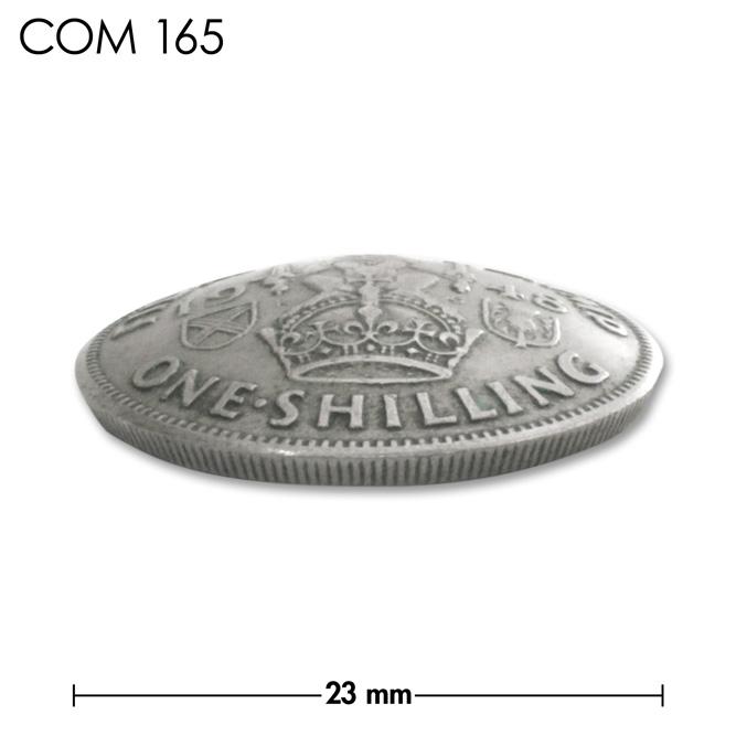 コンチョ/スコットランド/1シリング/王冠とライオン/銀色/23mm [40%OFF]