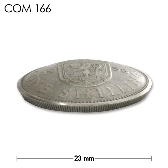 コンチョ/スコットランド/1シリング/王冠と紋章/銀色/23mm [30%OFF]